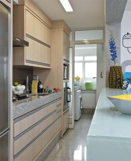 decoracao de apartamentos pequenos modernos:Para Cozinha Apartamento Pequeno